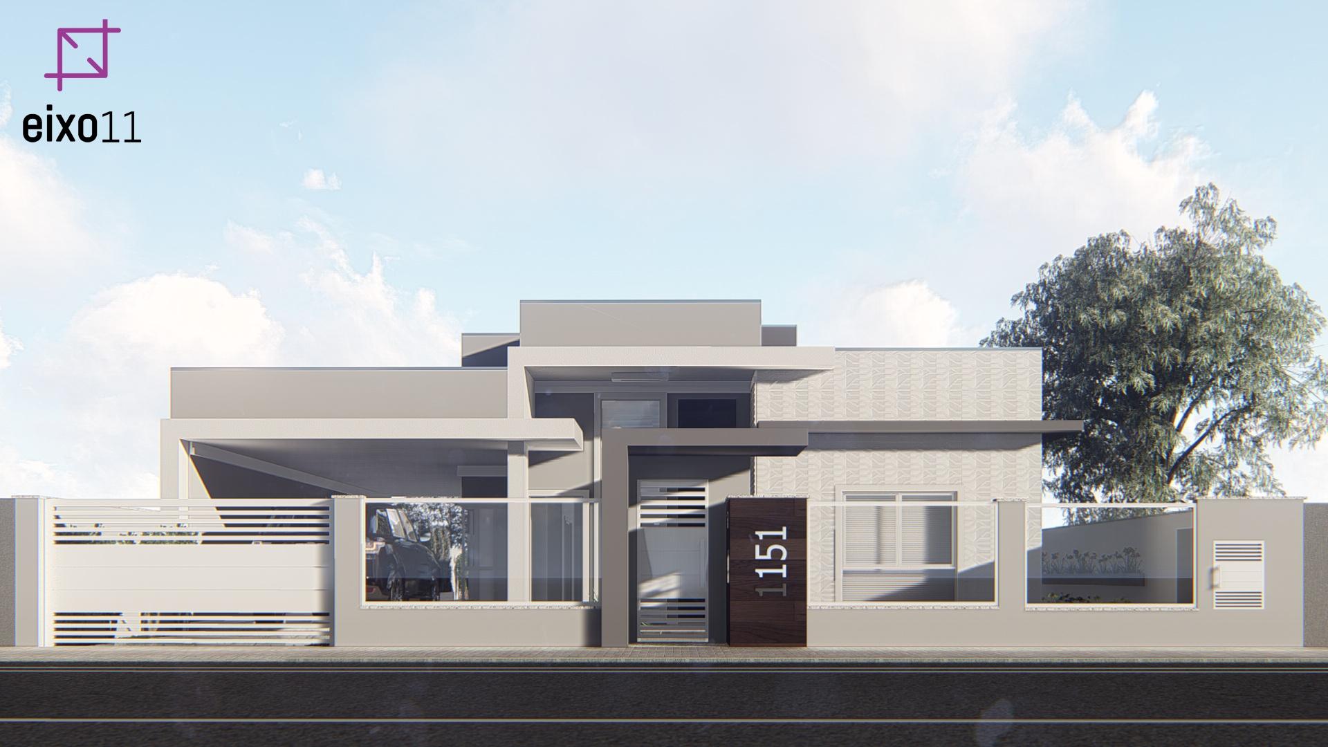 Projeto de residência unifamiliar