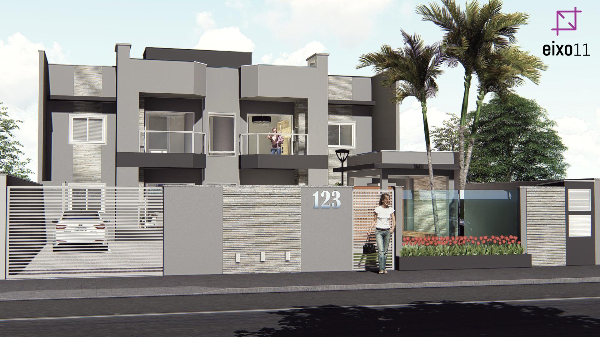 Projeto de edifício multifamiliar